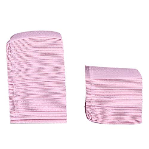 Summerwindy Rosa 125 StüCke SaugfHigen Tattoo Tisch Decke Einweg Tattoo Tuch Handtuch Reinigung Pad Wasserdichte Medizinische Papier Tischdecke Pad Doppel Board Tattoo ZubehR 45X33 Cm
