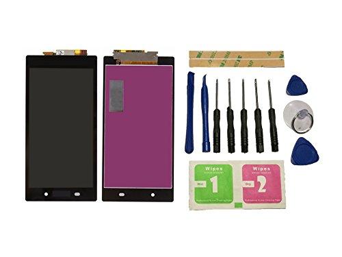 Flügel para Sony Xperia Z Ultra XL39h XL39 C6802 C6806 Pantalla LCD pantalla Negro Táctil digitalizador Asamblea Pantalla ( sin marco ) de Recambio & Herramientas