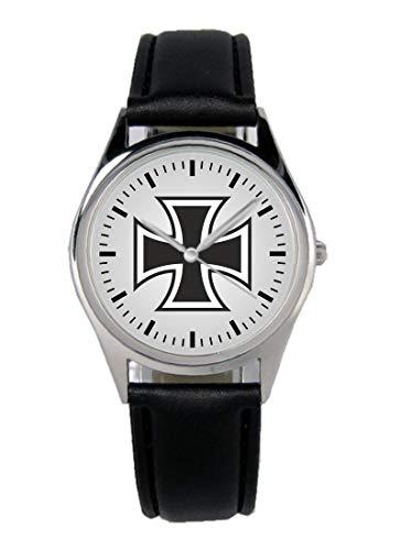 Soldat Geschenk Bundeswehr Artikel Eisernes Kreuz Uhr B-1137