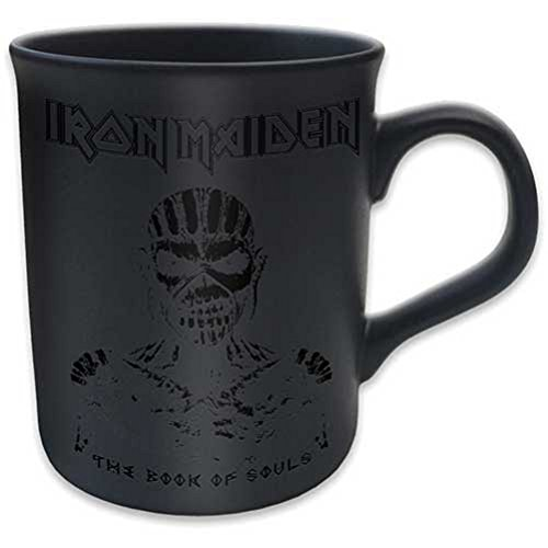 Iron Maiden Tasse The Book Of Souls Kaffeetasse Becher Black Mug