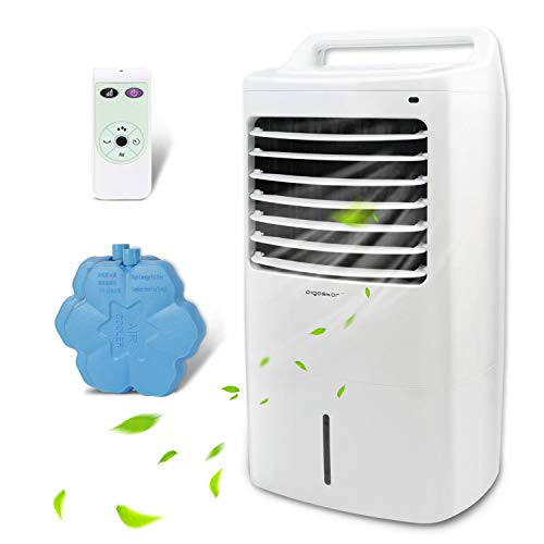 Aigostar Kohl 33JTJ - Climatizador Portatil con Mando a Distancia, 60W, Oscilante, 3 Nodos...