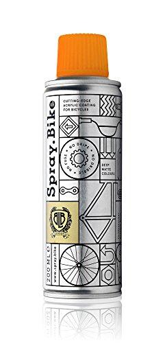 Spray.Bike 048284 LackSprayfür individuelle Veredelung vonFahrräder-Pocket Kollektion-FluroOrange200ML, fluro orange