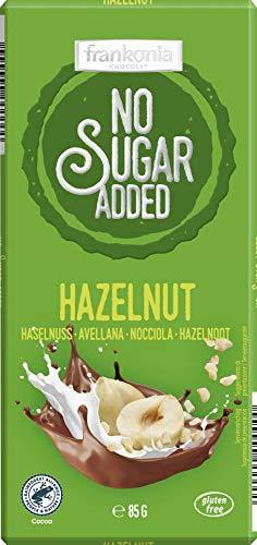 Frankonia No Sugar Added Frankonia No Sugar Added Cioccolato Al Latte Con Nocciole Senza Glutine - 85 g
