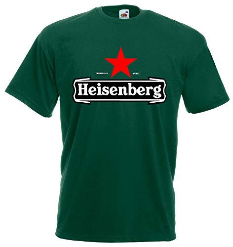 World-of-Shirt Unisex T-Shirt Heisenberg Funshirt|grün-XL