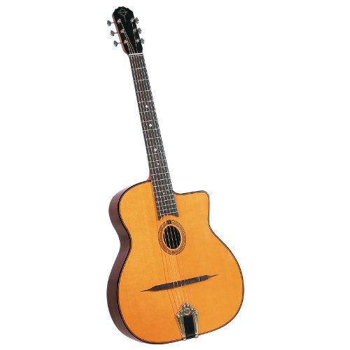 Gitane DG-250 Saga ovales Schalloch Gitarre