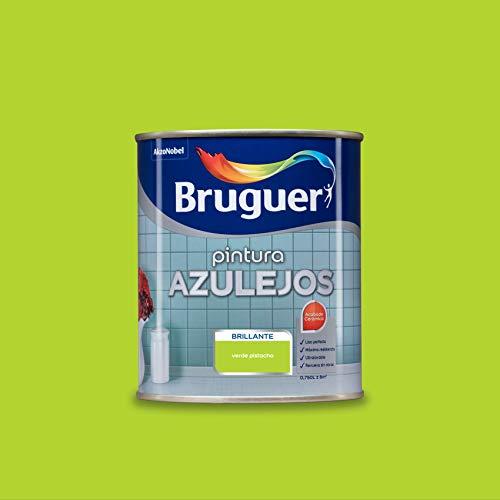 Bruguer Esmalte para Azulejos Brillante Verde Pistacho 750 ml