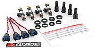Grams 06+ S2000 Fuel Injector Kit 750cc Honda//Acura K Series G2-0750-0501 D17 Civic, RSX, TSX