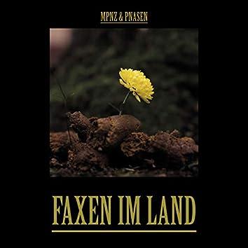 Faxen im Land