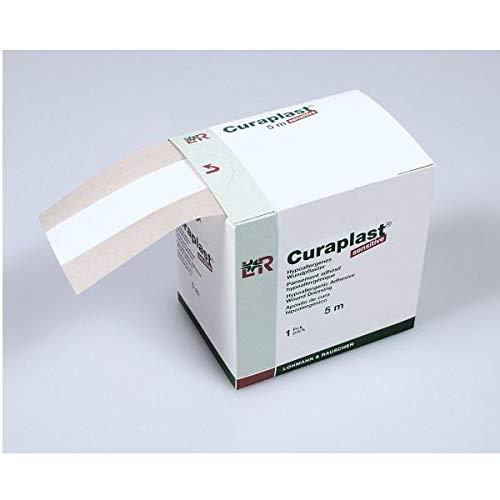 Curafix 30618 Pflasterverbände, Curaplast Sensitive, 8 cm x 5 m