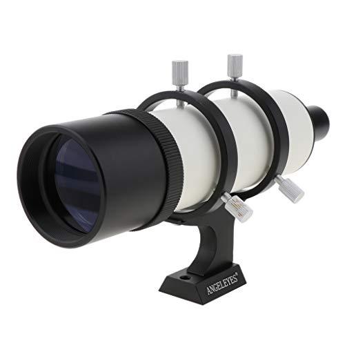Gazechimp Buscador De Alcance De Guía De 9X50 Mm + Soporte De Montaje A para Telescopio Astronómico