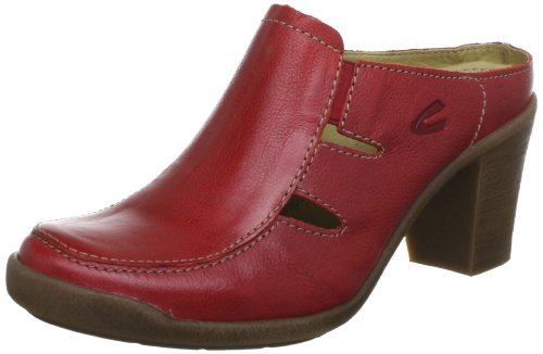 Camel active Parma 13 7851302, Damen Clogs & Pantoletten, Rot (red), EU 40.5 (UK 7) (US 9)