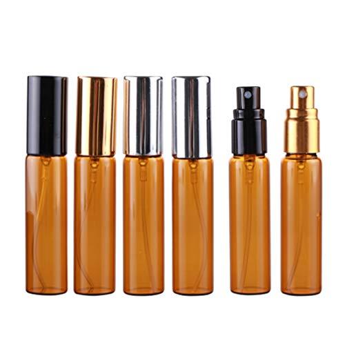 Beaupretty Atomiseur de Parfum Rechargeable Vide Flacon Pulvérisateur Pompe Cas Voyage pour Les Femmes Portable sous Emballage Bouteilles Nettoyage So