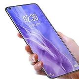 Teléfono de Móvil,OUKITEL C21 Android 10 Móviles y Smartphones Libres 4G Dual SIM,Pantalla FHD+ de 6.4' 4GB RAM+64GB ROM Helio P60 Móviles Libres,4000 mAh Bateria Cuatro Cámaras Smartphones,Morado