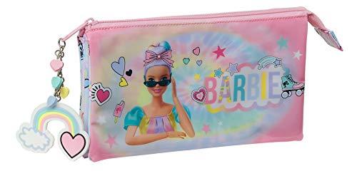 Barbie Astuccio triplo Girl Power, 220 x 30 x 120 mm