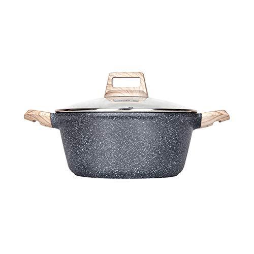 Faitout En bonne santé Ustensiles de cuisine Maifan Stone Soup Pot, Steamer anti-adhérent Cocotte, Home Cooking Pot, Cuisinière à gaz, applicable Hot Pot Batterie de cuisine.