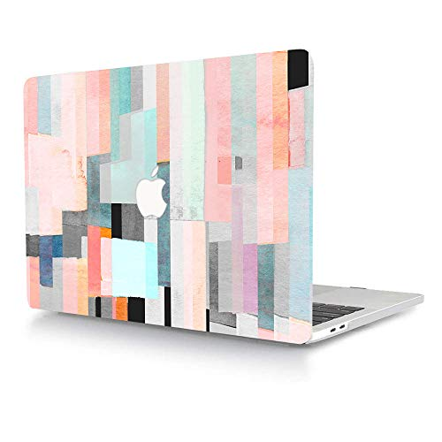 Bandless AJYX - Carcasa rígida de plástico solo compatible con la versión antigua MacBook Pro de 13 pulgadas (modelo: A1278, con CD-ROM) Release 2012/2011/2010/2009/2008, diseño de graffiti multicolor