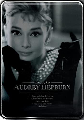 Coleção Audrey Hepburn ( Lata Com 5 Filmes + Cards )