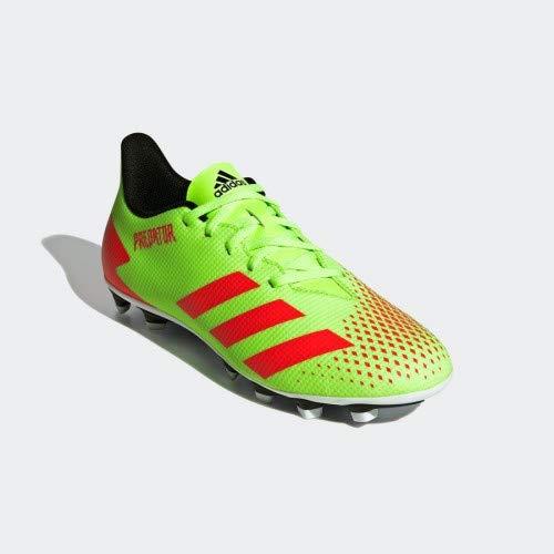 Chuteira de futebol campo adulto Predator 20.4 FXG Adidas Tamanho:42;Cor:verde