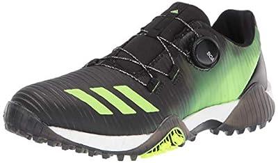 adidas Women's W CODECHAOS BOA Golf Shoe, core Black/Signal Green/FTWR White, 5.5 Medium US