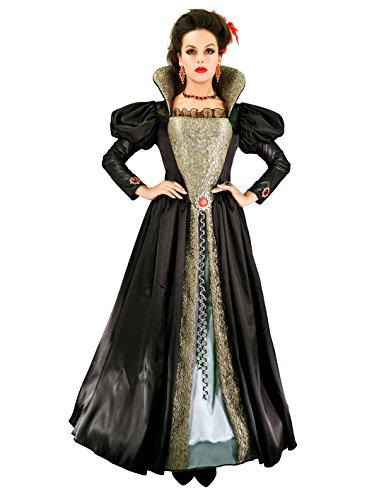 SEA HARE Frauen Vampir Königin Halloween Cosplay Kleid (S)