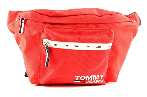 Riñonera Tommy Jeans Cool City Rojo Hombre y Mujer