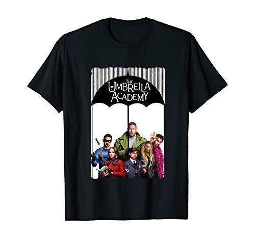 DIYHMH The Umbrella Academy Merch The Umbrella Academy T-Shirt Black XL