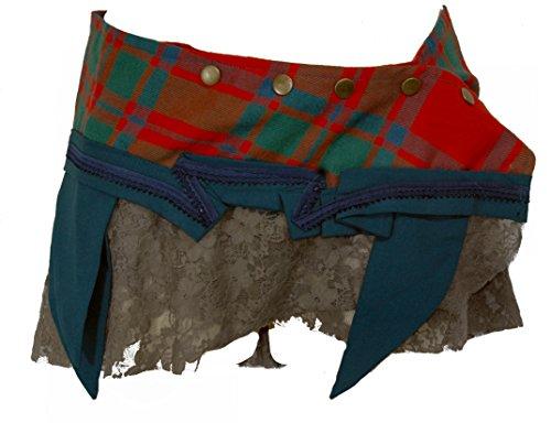 TERRAPIN One Size Wrap Scottish Tartan Kilt Gonna Avvolgente (Goth Steampunk Psytrance T