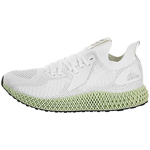 adidas ALPHAEDGE 4D Reflective Running Shoe, White, Size 9