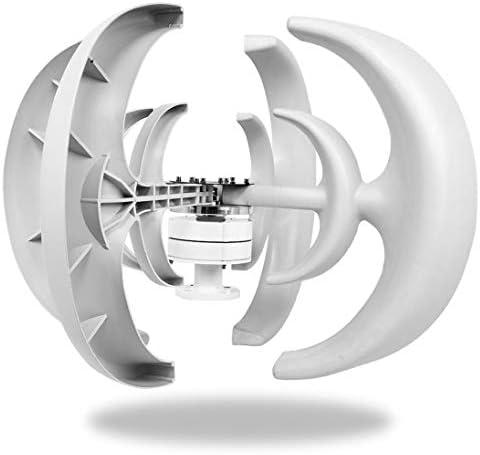 Wind Turbine Generator Kit 4500W 12V 4 Blade Wind Turbine Lantern Vertical Wind Generator Kit product image