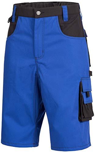 Nitras Nitras Motion Tex Plus 7601 Arbeitshosen - Shorts für die Arbeit - Blau - 56