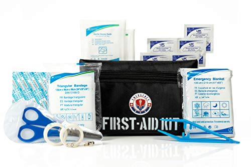 First Aid Kit Medical Emergency Bag Travel Survival Kit - Pack of 1