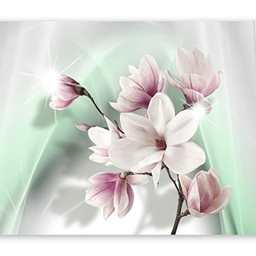 murando Fototapete Blumen 250x175 cm Vlies Tapeten Wandtapete XXL Moderne Wanddeko Design Wand Dekoration Wohnzimmer Schlafzimmer Büro Flur Blumen b-A-0201-a-c