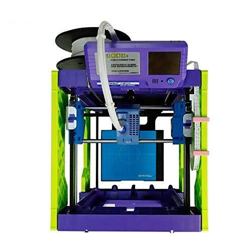 UWY 3D Printer PLA 1.75mm FDM STL Support Mini 3d Printer (Color : White) (Color : White)