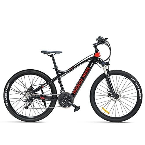 Clouds Bicicletas eléctricas para Adultos, 250W Ebike de aleación Aluminio extraíble 48V / 7.8Ah Iones Litio la batería conmuta ebike, Adolescentes Adultos