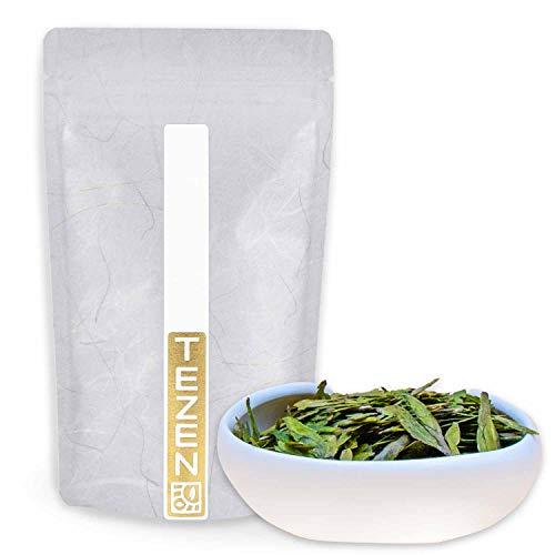Dragon Well Long Jing Grüner Tee von Hangzhou, China   Hochwertiger chinesischer Grüntee   Drachenbrunnen Grüner Tee 50 g