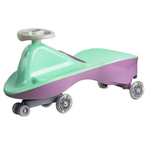 Purchase Scooters Tricycles Children's Swing car Tricycle Twist car Silent Magnetic Flash Wheel 1-6 ...