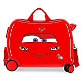 Disney Cars Lightning Mcqueen Maleta Infantil Rojo 50x38x20 cms Rígida ABS Cierre de...