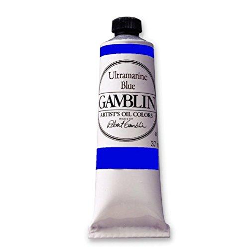 Gamblin Artist's Oil Colors ultramarine blue 37 ml