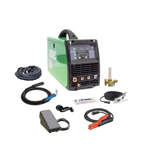 2019 Everlast Power Equipment PowerMTS 211Si MIG TIG Stick 200amp 110v/220v Multi Process new Welder