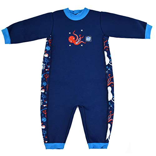 Splash About Children's Warm in One Baby Wetsuit, Under The Sea, 12-24 Months
