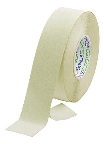 BONUS Eurotech 1BL43.40.0050/018 Antislip plakband, lijm op acrylbasis, fluorescerende folie van polyvinylchloride, lengte 18 m x breedte 50 mm x dikte 0,70 mm