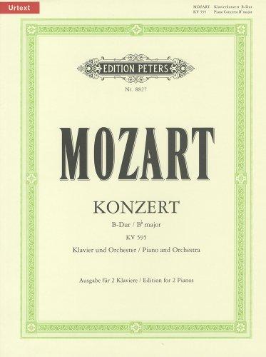 モーツァルト : ピアノ協奏曲 第27番 変ロ長調 KV 595(作曲者自身によるカデンツ付)/ペータース社新原典版/ピアノ・リダクション版