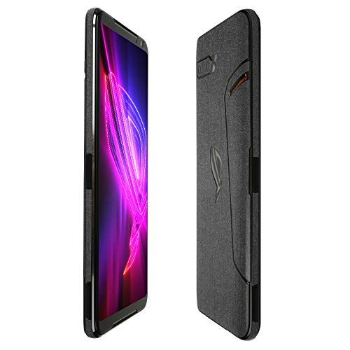 Skinomi Brushed Steel Full Body Skin Compatible with ASUS ROG Phone 2 (2019)(Full Coverage) TechSkin with Anti-Bubble Clear Film Screen Protector