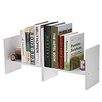 本棚 書棚 デスクトップ本棚シンプルなデスクコンビネーション本棚テーブルに現代の学生の子供たちテーブルデスクトップ本棚収納 (Size:As Shown; Color:Light Brown)