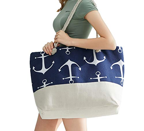 OZCHIN Beach Bag Large Tote Bag for Women Best Christmas Birthday Gifts for Women Friend (XL)