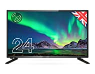 """Cello ZS0242 24"""" inch HD Ready LED TV with Freeview HD Built in Satellite Made in the UK"""