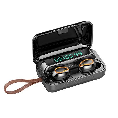 pedkit F9-5 True Wireless Headphones Bluetooth 5.0 TWS Earphones com Mic Sports Headsets Touch Control Music Earbuds para telefones