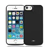Fey-EU Coque Batterie pour iPhone 5/5S/SE, 4000mAh Chargeur Portable Batterie Externe...