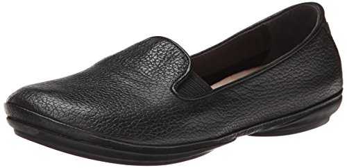 Camper Women's Right Nina Moccasin, Black, 40 EU/10 M US