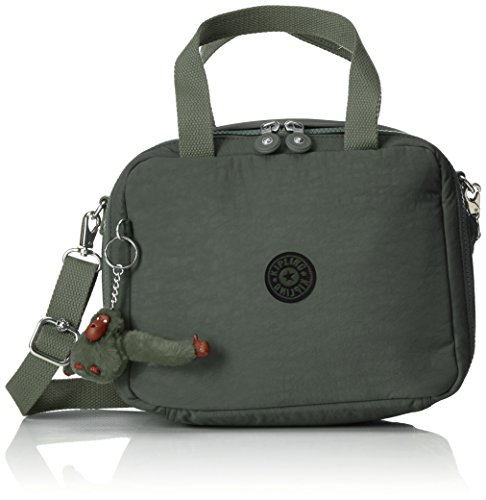 Kipling - Miyo - Sac pour déjeuner adaptable sur une valise - Vert ( Dark Green C ) - (Vert)